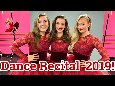 Dance Recital 2019 - I had to dance in a cast !!! Competitive dancer