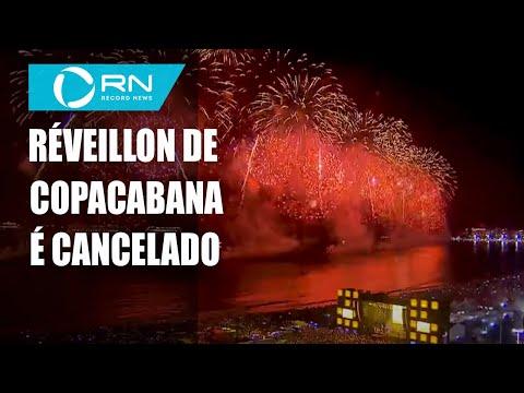 Festa de réveillon em Copacabana é cancelada devido à pandemia