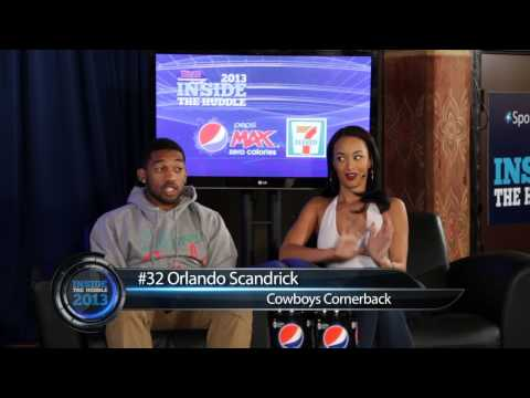 Inside The Huddle 2013 show #8 with Jane Slater, Orlando Scandrick and Draya Michele