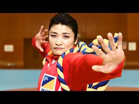 伊調馨らCMで歌舞伎ダンス 「ドドン」と見得を切る 新CM「ALSOK 歌舞伎ダンス」篇