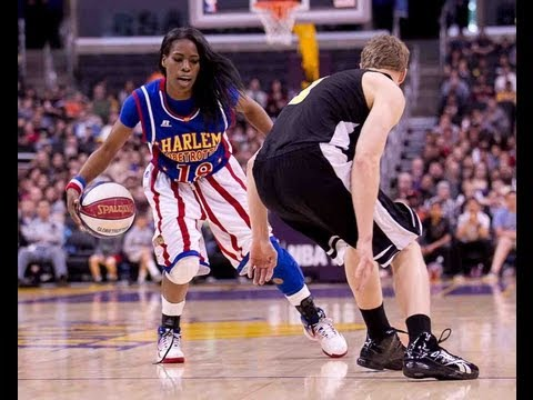 "What Female Harlem Globetrotter ""TNT"" Maddox is REALLY like!"