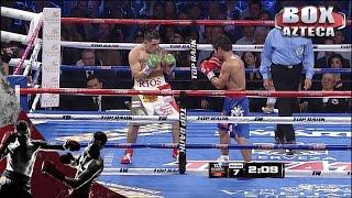 Pacquiao regresó y le dio una lección de boxeo a Brandon Ríos