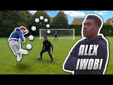 IMPOSSIBLE RAINBOW FLICK SHOOTING VS ALEX IWOBI