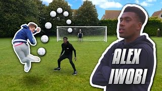 IMPOSSIBLE RAINBOW FLICK SHOOTING VS ALEX IWOBI