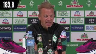 Werder Bremen: Die Highlights der Pressekonferenz vor dem Spiel bei Dynamo Dresden in 189,9 Sekunden
