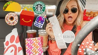 Download Letting The Person in Front of Me DECIDE What I Eat for 24 HOURS!〡Megan O'Rourke Mp3 and Videos