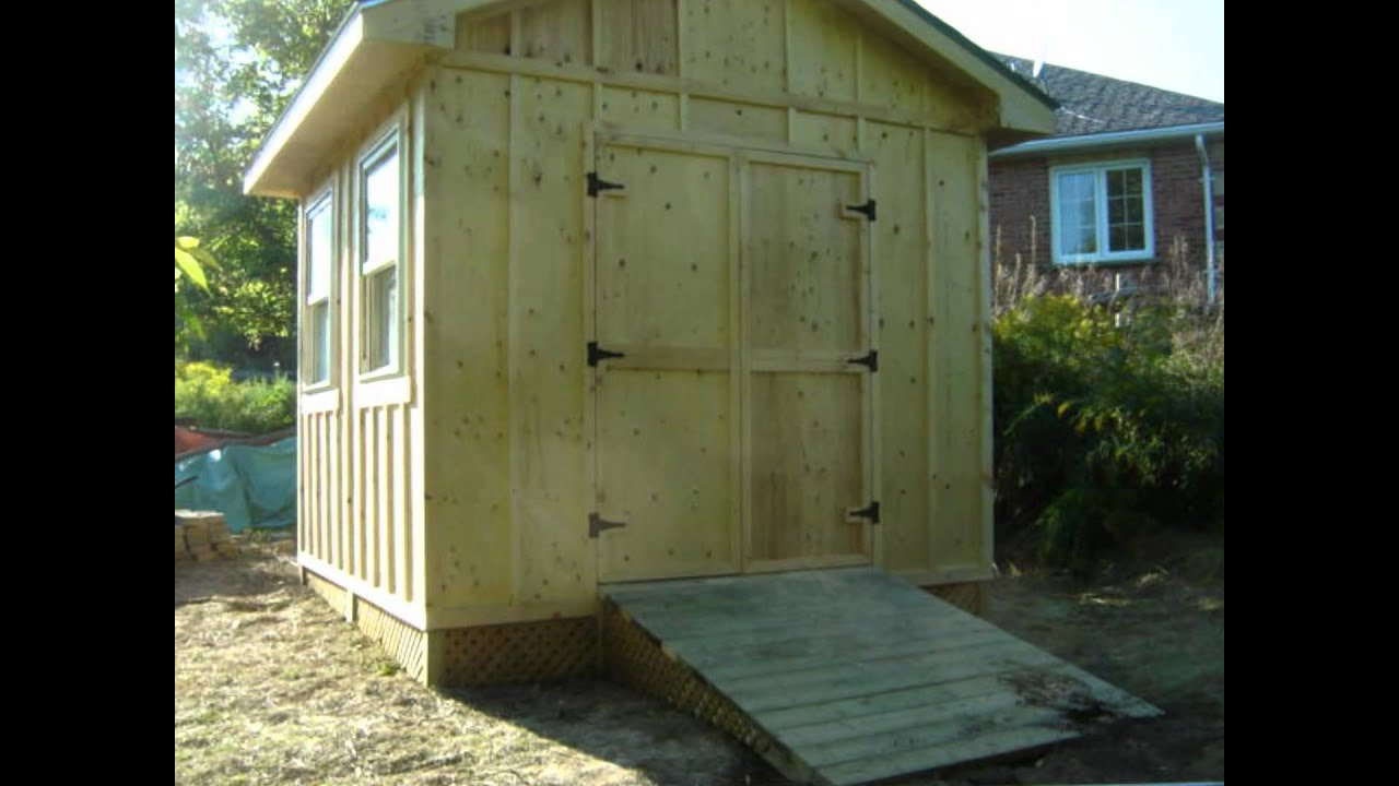 10 X 10 Shed YouTube