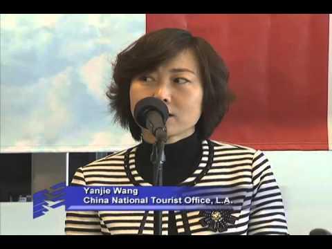 Hainan Airlines Inauguration at LAX