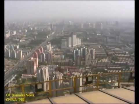Zentraler Fernsehturm Peking Aussichtsplattform China Central Television Tower CCTV Observation deck