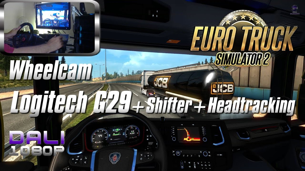 cf207d62f66 ETS 2 'The Driller Job' Logitech G29 + shifter + headtracking (wheelcam) -  Jimmy Dali :: Let's Play Index