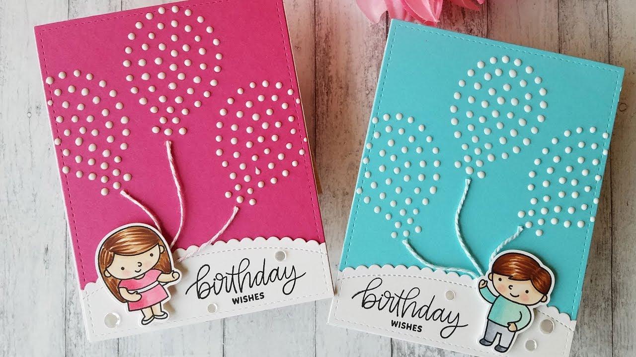 Creating A Birthday Card By Pretty Pink Posh