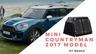 DT-Boxes - MINI COUNTRYMAN (2017–present) - Dog Crate - Travel Crate
