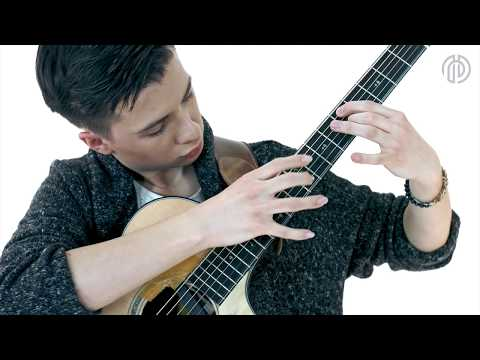 Paganini's Caprice No. 24 On One Guitar - Marcin Patrzalek