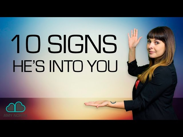 10 Signs He Likes You Body Language
