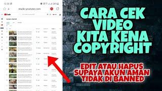 Cara melihat Video kita kena Copyright di Android 2021