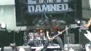 Son Of The Jackal - LEGION OF THE DAMNED  - live MASTERS OF ROCK 2009