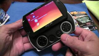 How to install a PSPgo game