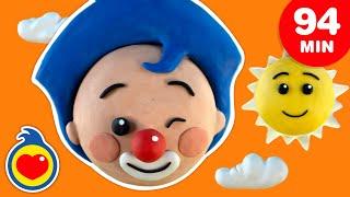 Plastilinas de Colores  Los Mejores Juegos Y Canciones Infantiles (94 Min)   Plim Plim