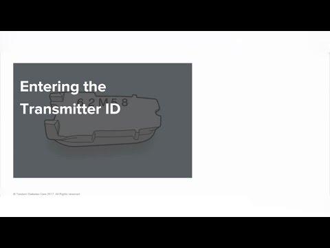 t:slim-g4-insulin-pump-training-#4:-entering-the-transmitter-id