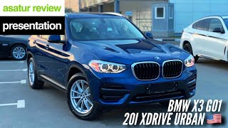 BMW X3 G01 20i xDrive Urban 🇺🇸