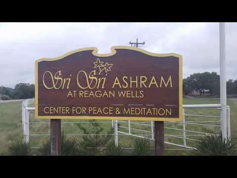 First visit to the Art of Living Texas Ashram
