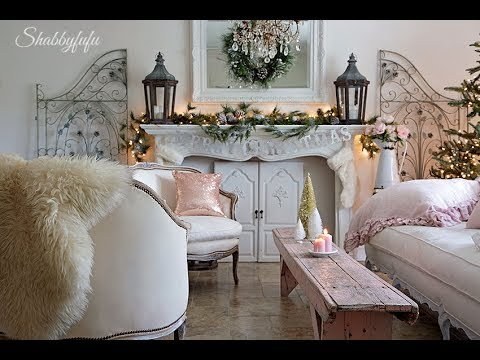 country decor french christmas decorating