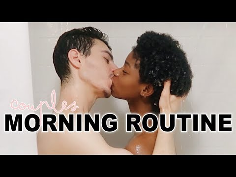 AN INTERRACIAL COUPLES MORNING ROUTINE thumbnail