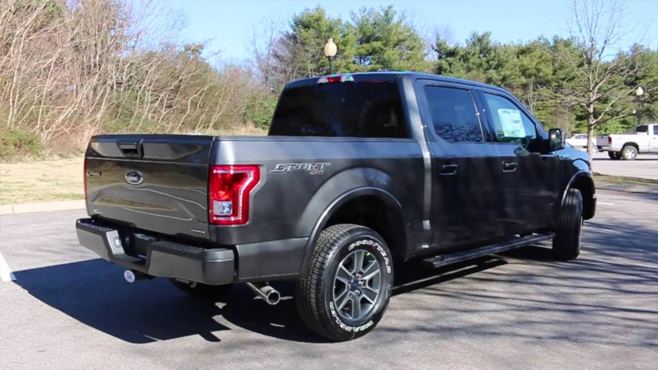 2015 f 150 xlt sport 4x4 review youtube