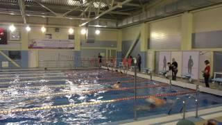Мужчины, соревнования пенсионеров, бассейн  Великий Новгород