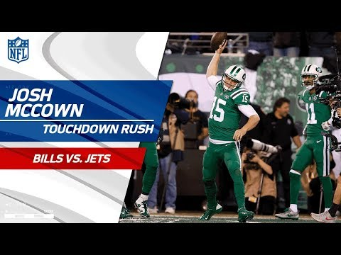 Josh McCown Finishes Off Drive w/ Huge TD Run! | Bills vs. Jets | NFL Wk 9 Highlights
