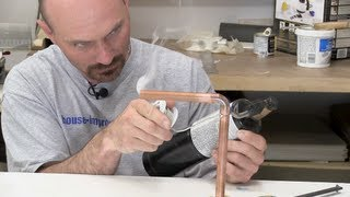How To Solder Copper Plumbing Pipes