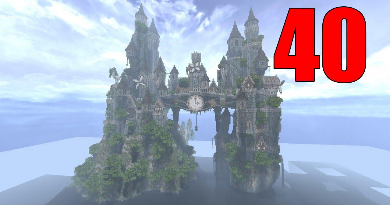 Карты для Майнкрафт Замок