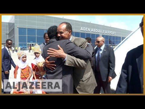 🇪🇷🇸🇴Eritrean leader seeks closer ties in visit to Somalia l Al Jazeera English