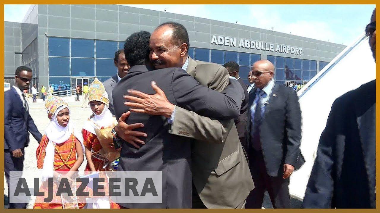 ????Eritrean leader seeks closer ties in visit to Somalia l Al Jazeera English