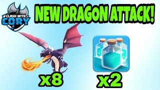 *NEW DRAGON ATTACK* Th10 Attack Strategy 2018 2019 Clash of Clans