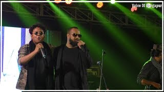 Cactus bangla band with Sidhu/rock performence/nil nirjane song/durgapur 201