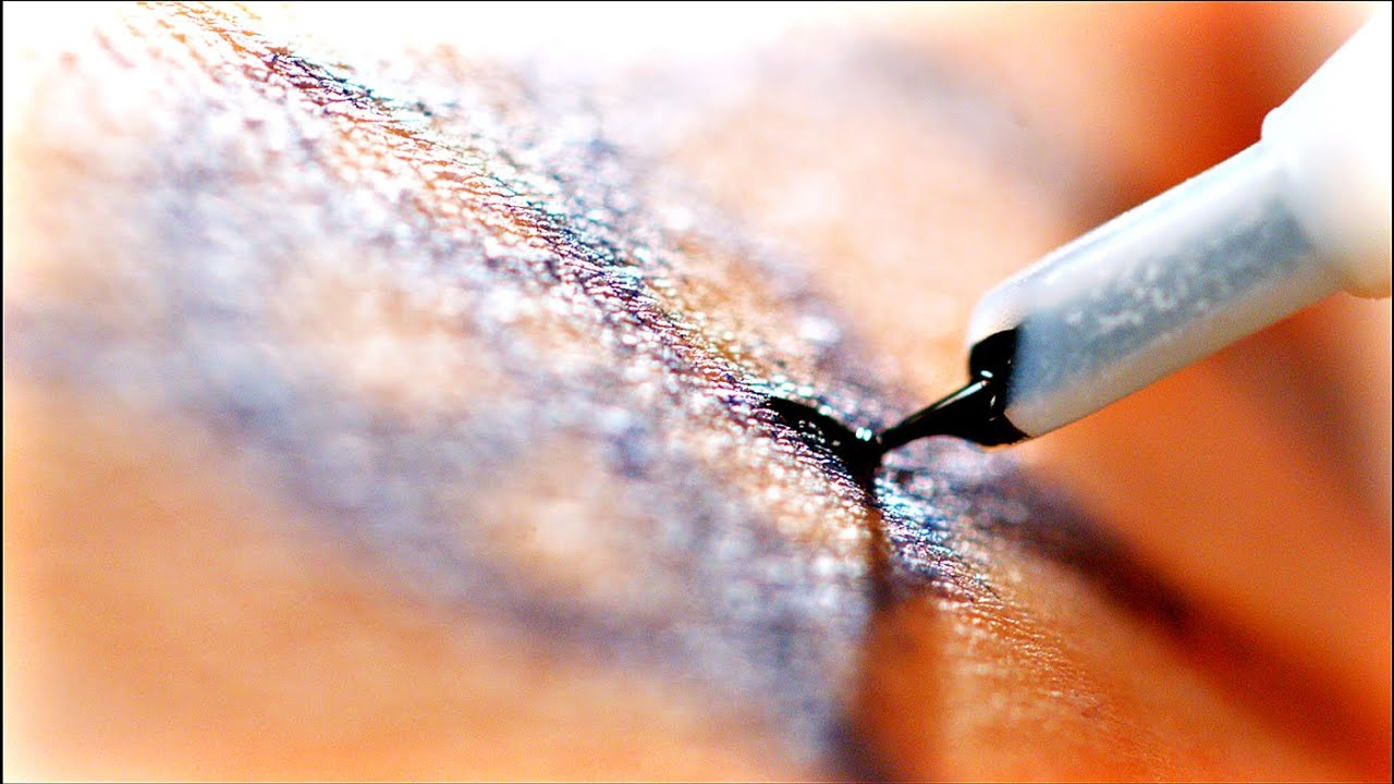 Se tatoveringsn la bore seg inn i huden youtube for How to make a tattoo needle