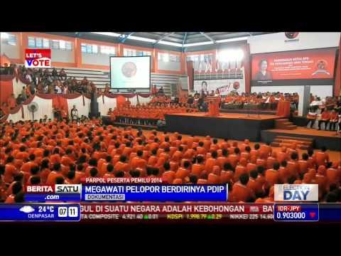 Megawati Soekarnoputri Polopor Berdirinya PDI Perjuangan