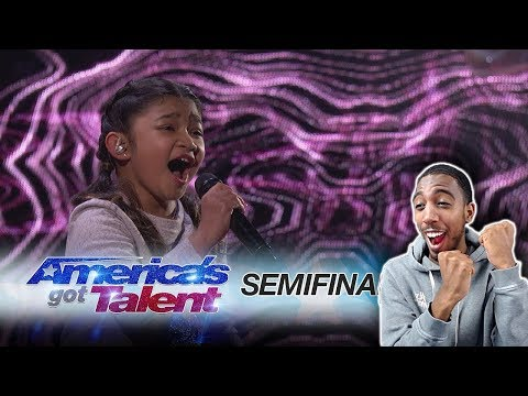Angelica Hale: 10-Year-Old Singer Blows The Audience Away - America's Got Talent 2017 *REACTION*