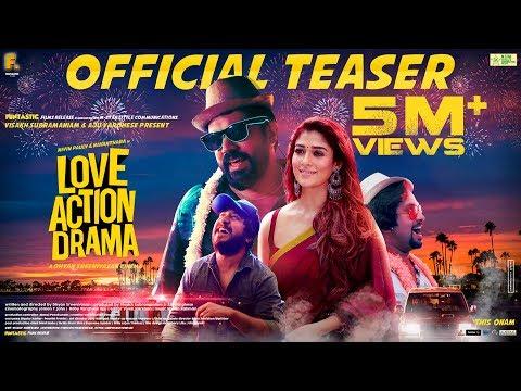 Love Action Drama | Official Teaser | Nivin Pauly, Nayanthara | Dhyan Sreenivasan | Shaan Rahman |HD