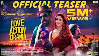 Proudly unveiling the official teaser of most awaited malayalam movie 'love action drama' starring nivin pauly and nayanthara along with vineeth sreeniva...