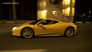 McLaren SLR vs Ferrari 458 Italia vs Nissan GT-R vs Porsche 911 Turbo PDK