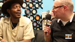 Interview Michael Prophet at Reggae Central - Dordrecht NL