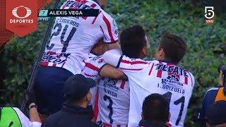 Hat-Trick de Vega | Chivas 3 - 0 Atlas | Clausura 2019 - J7 | Televisa Deportes