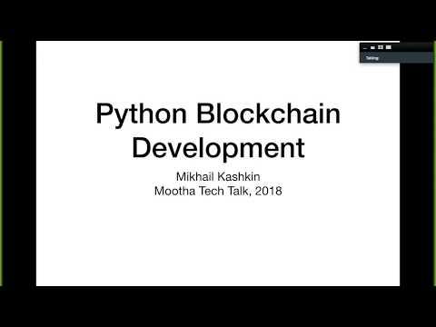 Python блокчейн разработка 101: Блокчейн, Vyper, Solidity, Ethereum