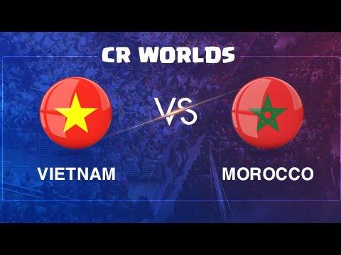 Vietnam vs Morocco | CR Worlds 2017