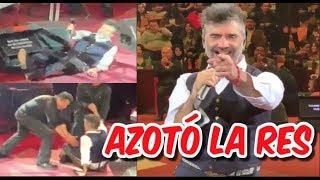 ALEJANDRO FERNÁNDEZ se Em3orr4ch0 y terminó en el suelo en concierto en LEÓN