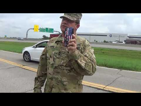 Oklahoma National Guard 1st amendment audit Tulsa OK