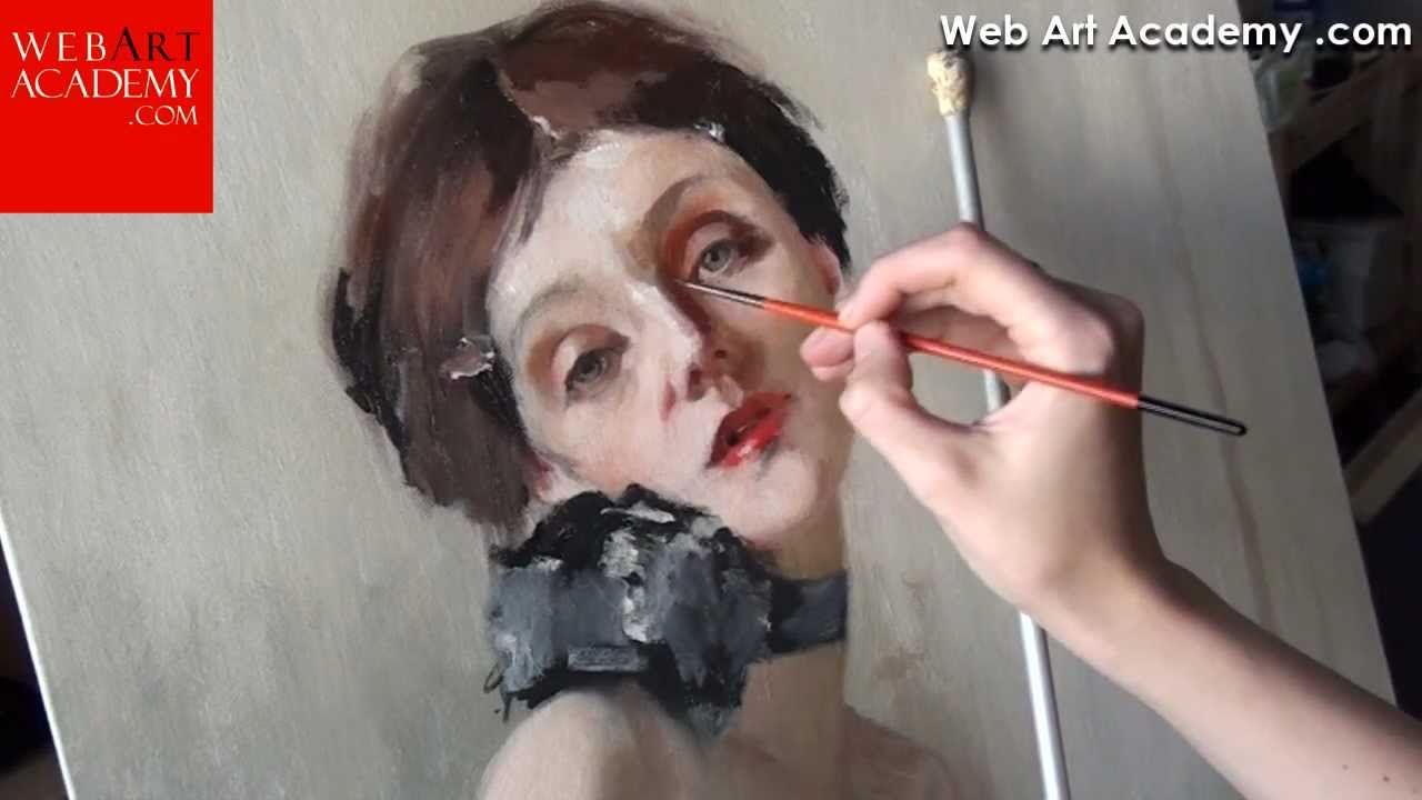 How to oil painting and drawing video lessons. Fine art tutorials ...