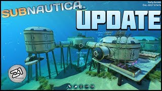 New Subnautica UPDATE! New Eyecandy Update! Lets Play Subnautica Gameplay   Z1 Gaming